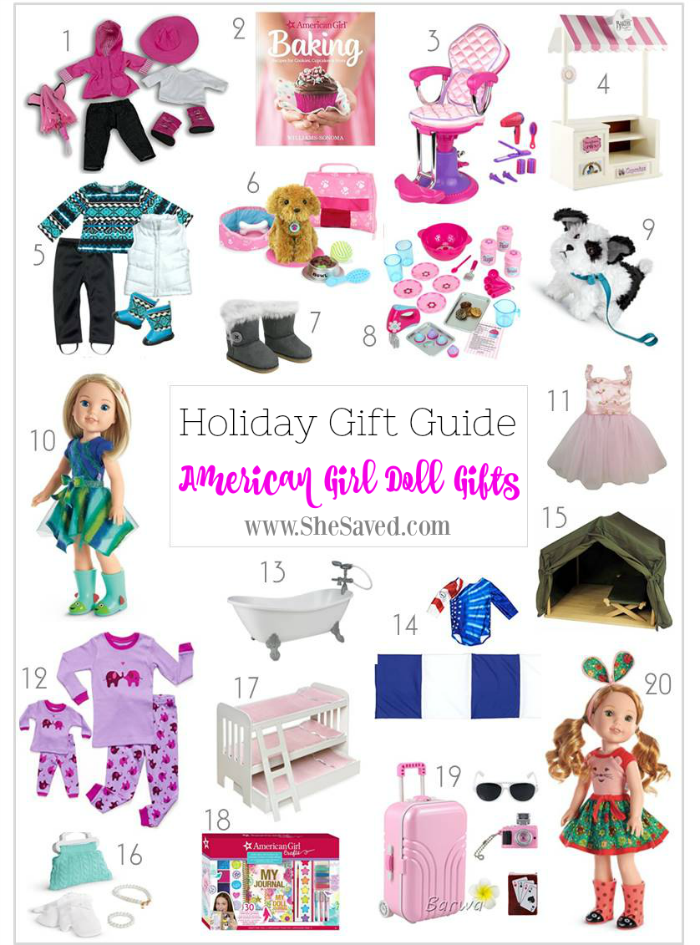 Looking for fun American Girl Doll gifts? I've got some great ideas in this round up!