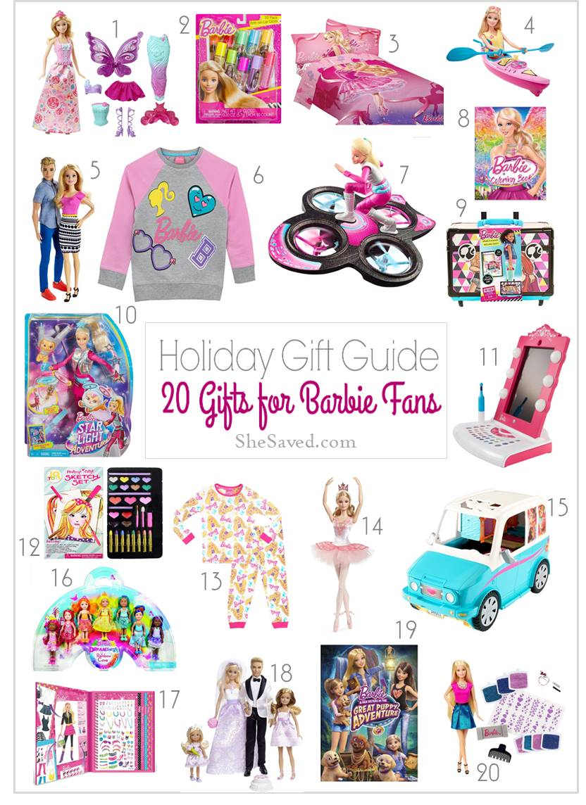 Gifts for Barbie Fans