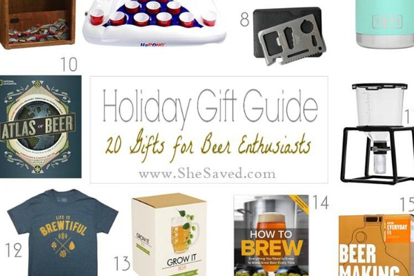 HOLIDAY GIFT GUIDE: Gifts for Beer Drinkers