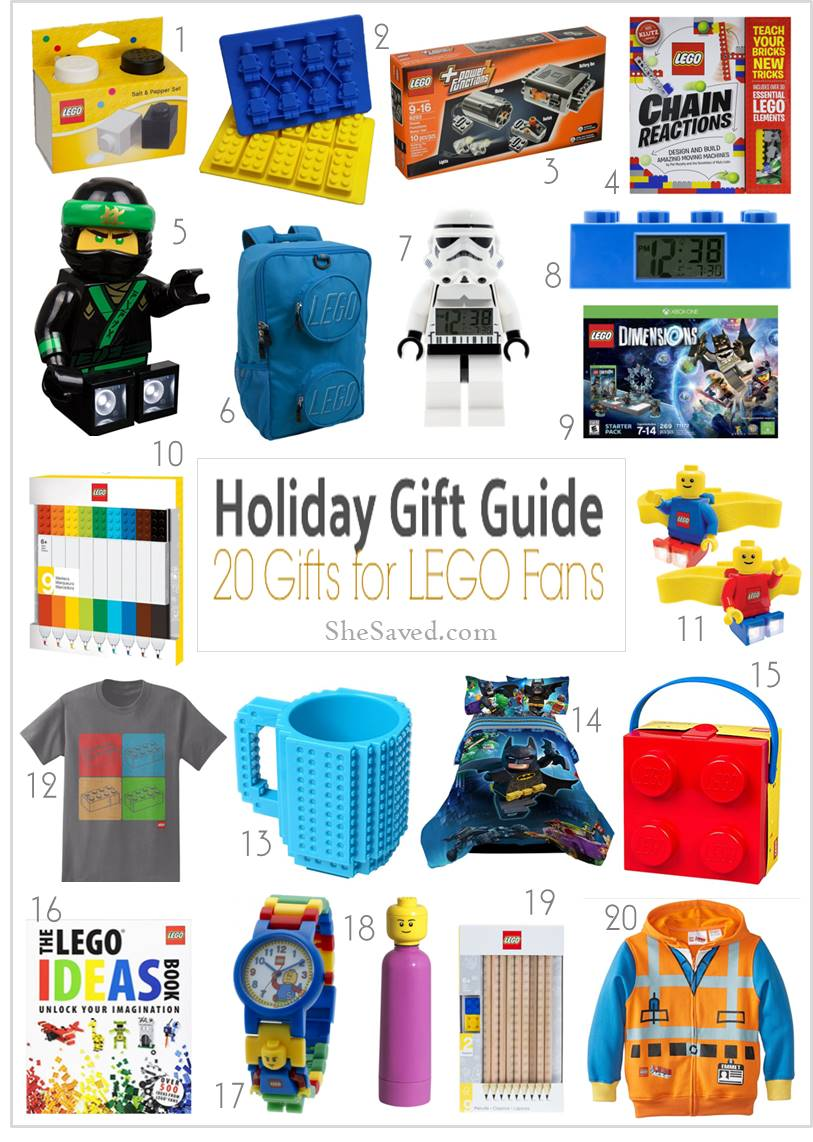 Lego gift ideas for your favorite LEGO fan!