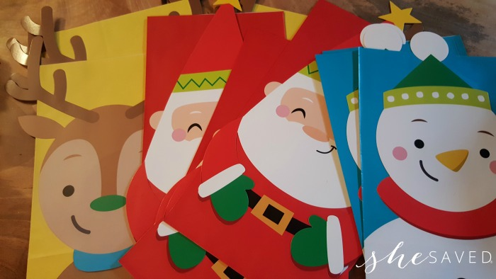 arent these gift bags and boxes darling i was able to buy them in bulk which not only saved me money but it makes my holiday plan to much easier when i
