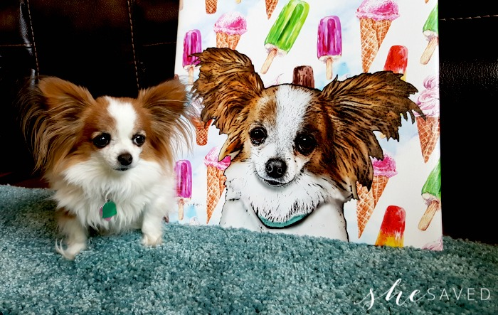 GREAT Gift Idea: Pop Your Pup Canvas Art + Giveaway