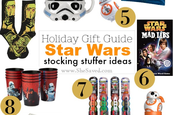 Star Wars Stocking Stuffer Ideas for Kids + Sweepstakes!