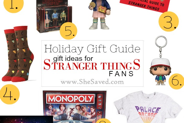 HOLIDAY GIFT GUIDE: 11 Gifts for Stranger Things Fans #StreamTeam