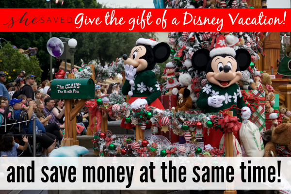 GREAT Family Gift Idea: Save Money on a Disney Vacation!