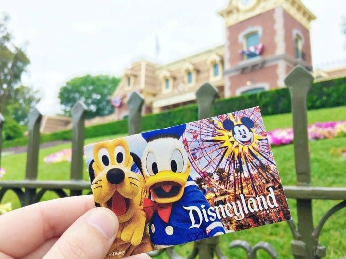 buying Disneyland Tickets on April 15th