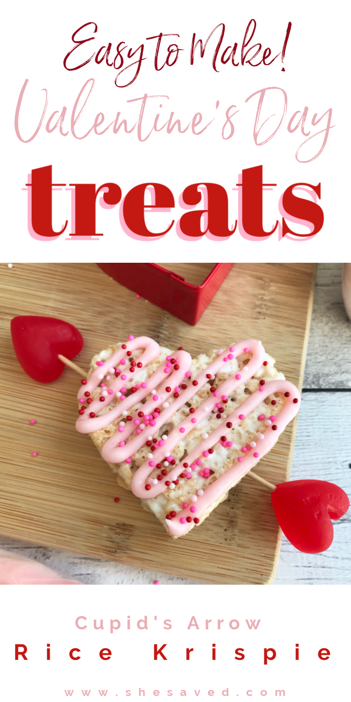 Valentine's Day Cupid Arrow Heart Treat Recipe