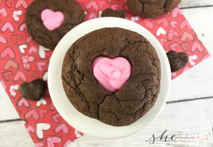 Cutout Heart Cookie