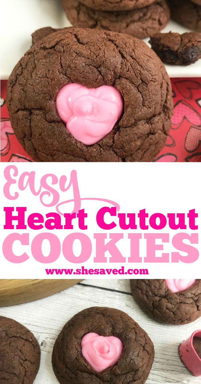 Easy Heart Cutout Cookies
