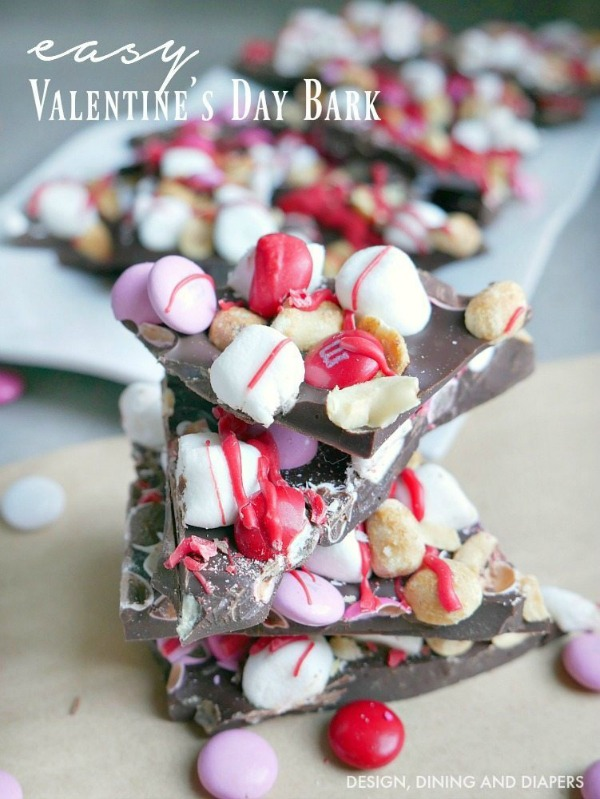 easy valentines day bark from taryn whiteaker