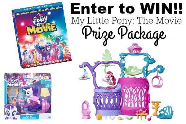 My Little Pony: The Movie Available TODAY + Giveaway!