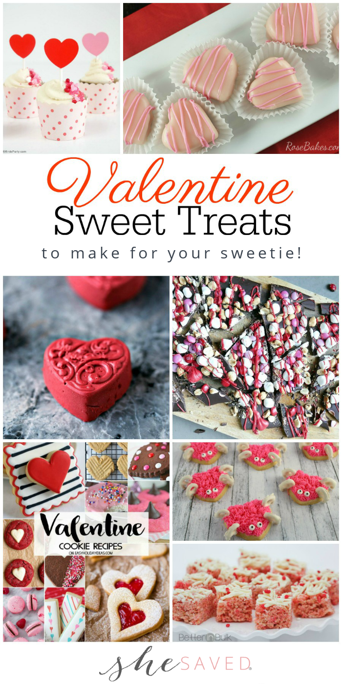 Valentines Day Treat Ideas and Recipes for Heart Day Parties