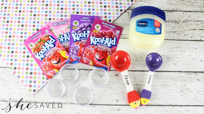 Easy Homemade Kool-Aid Lip Balm - SheSaved®