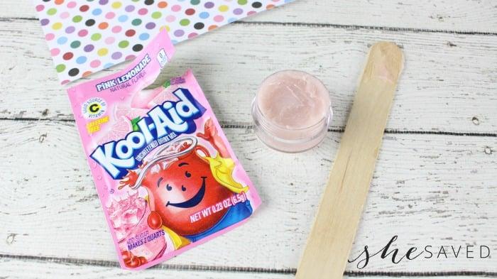 Easy Homemade Kool-Aid Lip Balm
