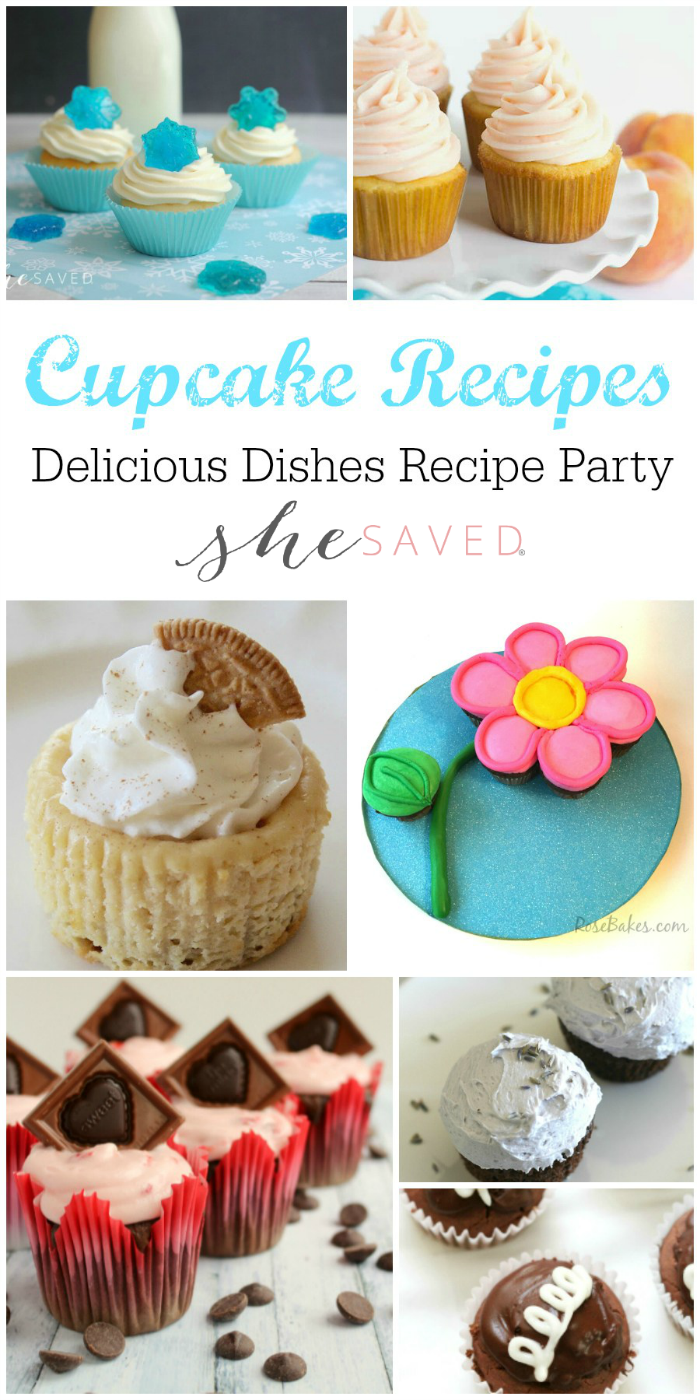 A huge selection of delicious and favorite cupcake recipes for your next party!