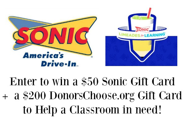 Sonic Drive-In Teams Up with Limeades for Learning + Giveaway!