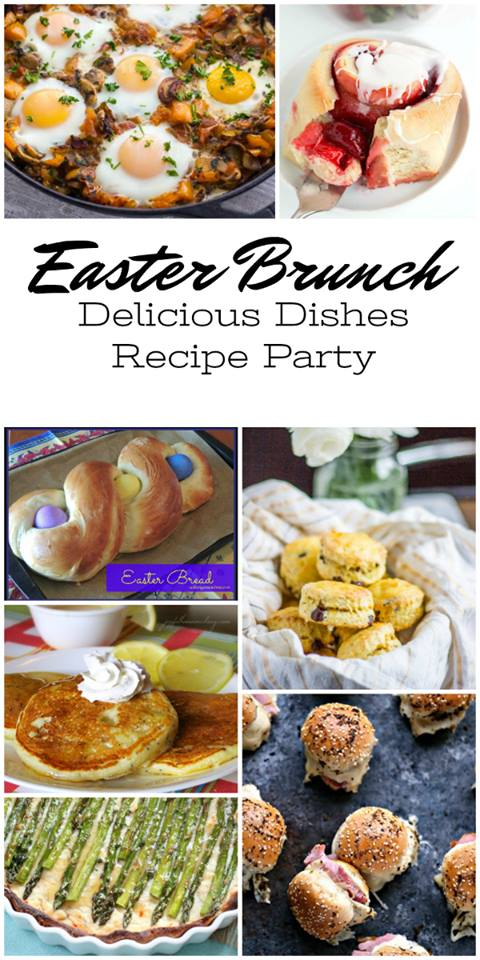 Hosting Easter Breakfast? No worries, we have you covered with this amazing round up of Easter Brunch Recipes!