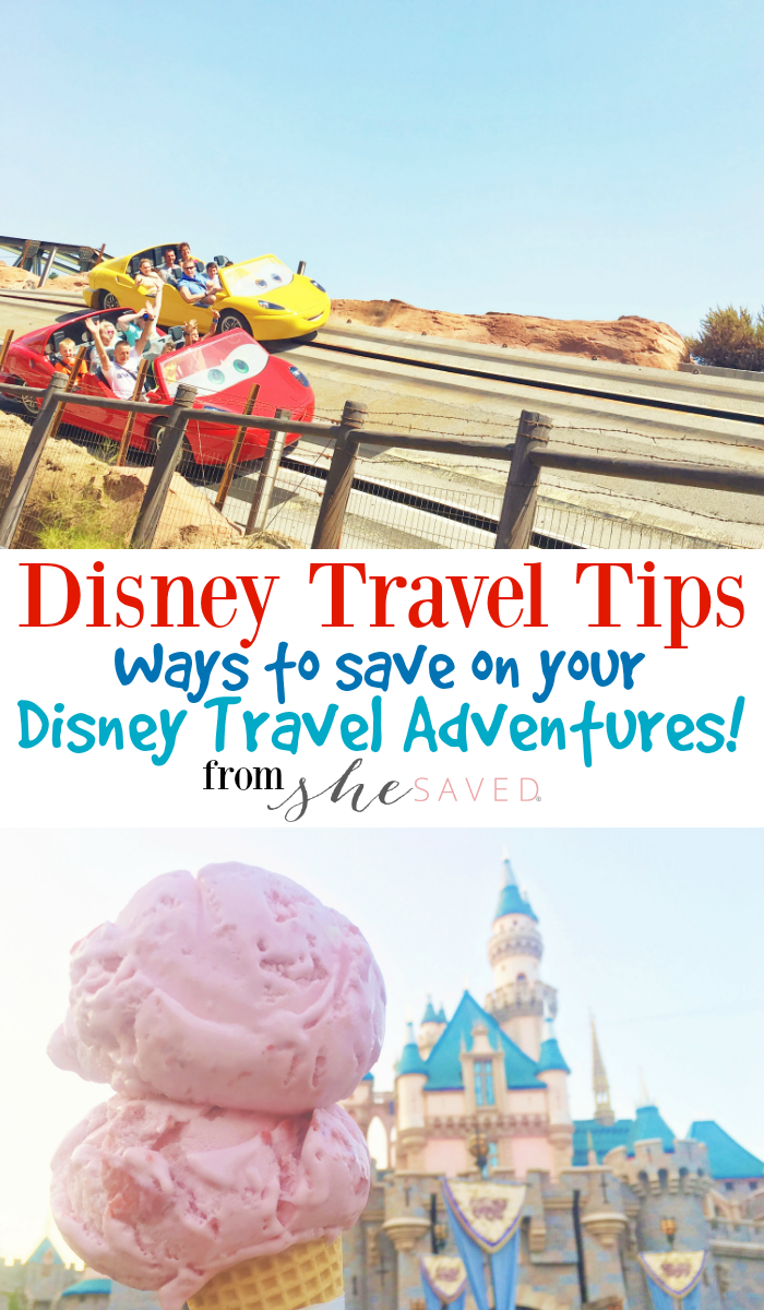 Planning a trip to Disneyland? SAVE money AND time by following my Disney Travel Trips!