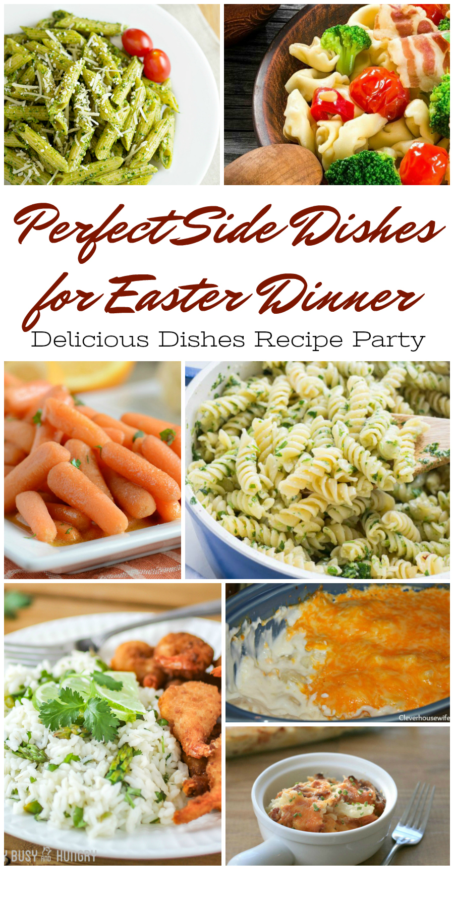 Save this post for the very best Easter Side Dishes!
