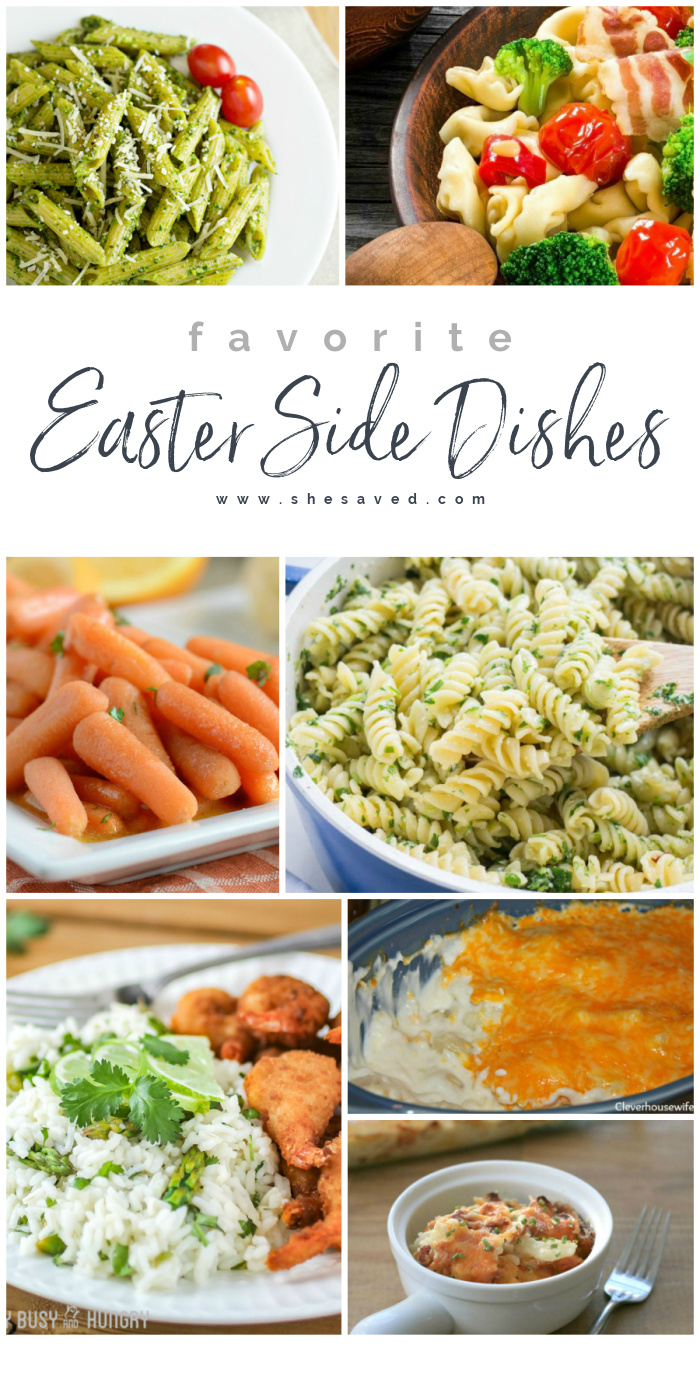 Favorite Easter Side Dishes Recipes