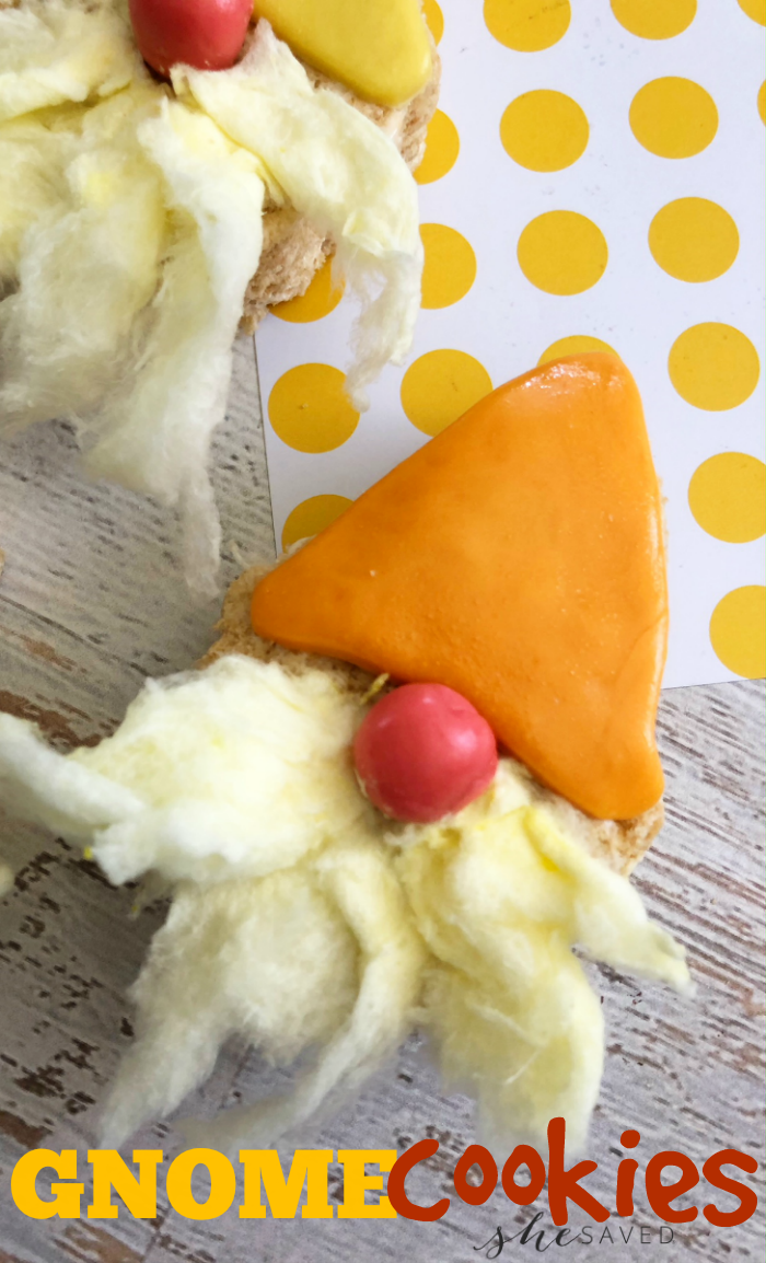 Gnome Cookies are perfect for your garden party!