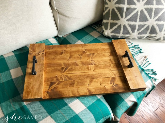 Farmhouse Serving Tray Project