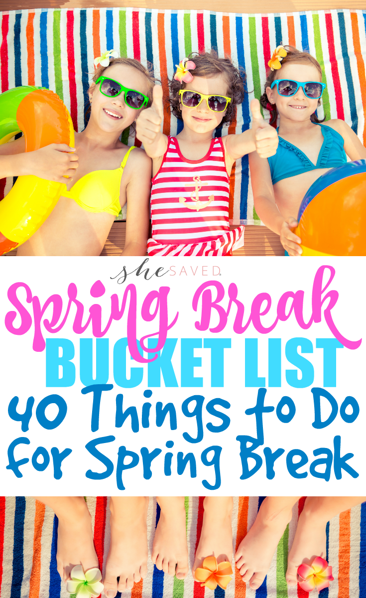 What to do on spring break 2