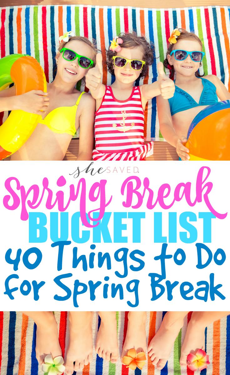Spring break to do-9407