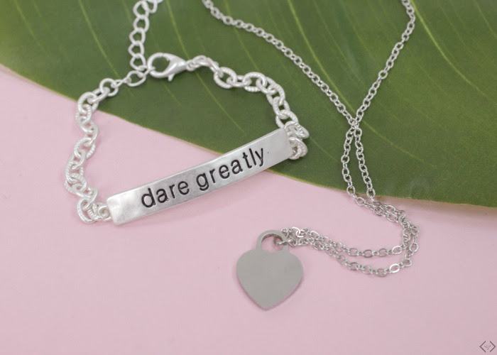 Great Gift Idea Inspirational Jewelry Two For 12
