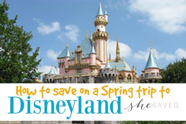 Save at Disney! Spring Hotel Specials at Disneyland!