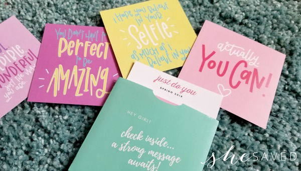 Positive Messaging for Young Girls: Strong Selfie Box Review