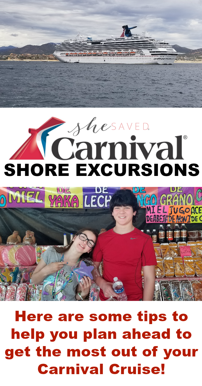 Carnival Shore Excursions are a great way to make priceless memories!