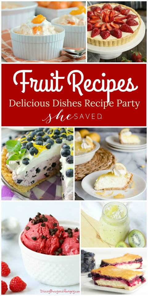 Best fruit recipes and desserts