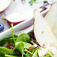 Pear Salad with Feta Recipe