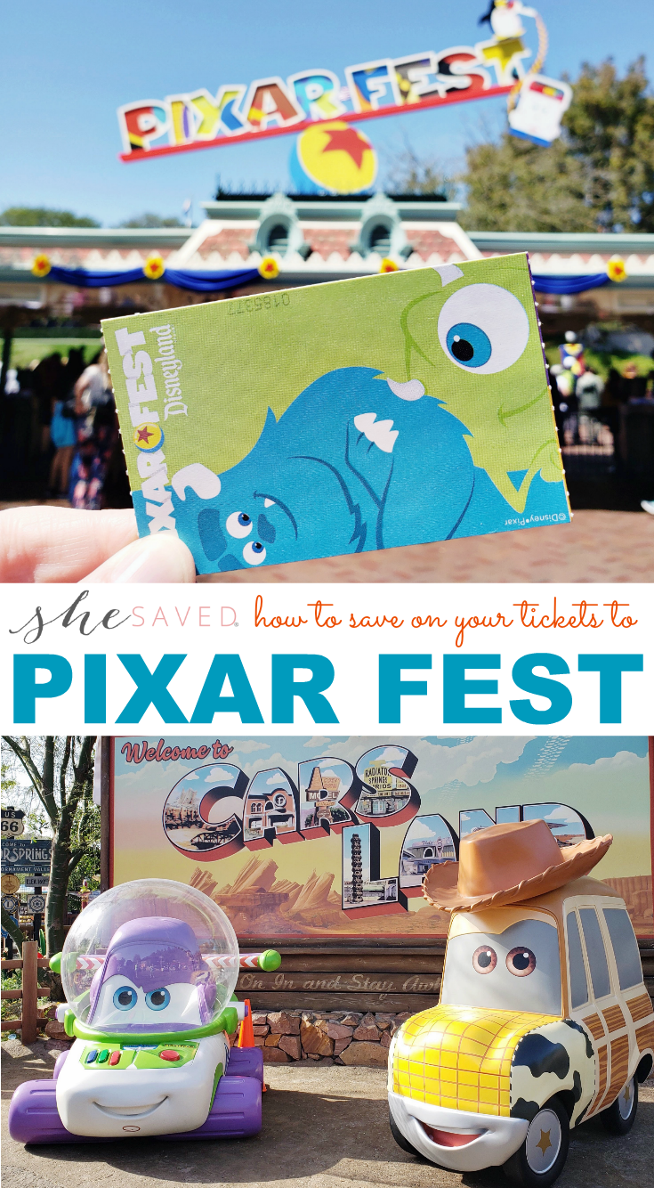 Find out how to SAVE on your Pixar Fest tickets!