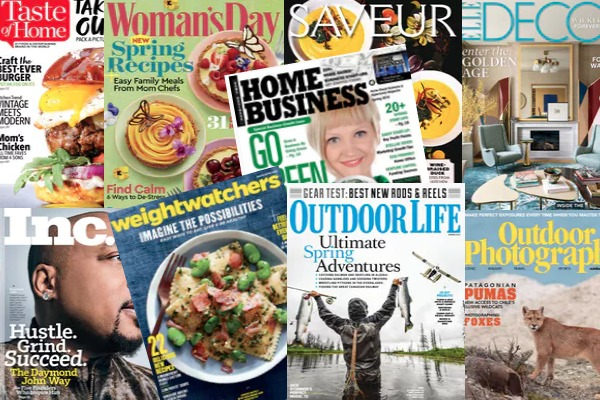 HUGE Tax Refund Magazine Sale: Titles Under $5 Per Year!