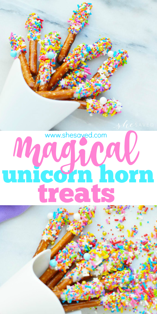 This magical unicorn treat recipe is perfect for your unicorn themed party or celebration!
