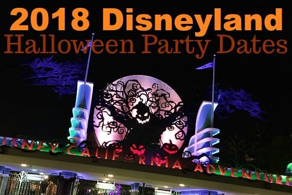 2018 Disneyland Halloween Party Dates (+ Ways to SAVE!)
