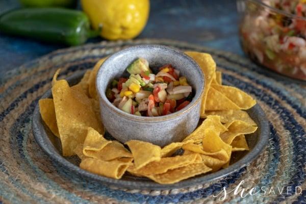Crab Ceviche Recipe Dip