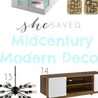Home Decorating: Midcentury Modern Decor Items