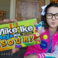SO Sour. SO Good! Mike and Ike MegaMix Sour Exclusively at Walmart!