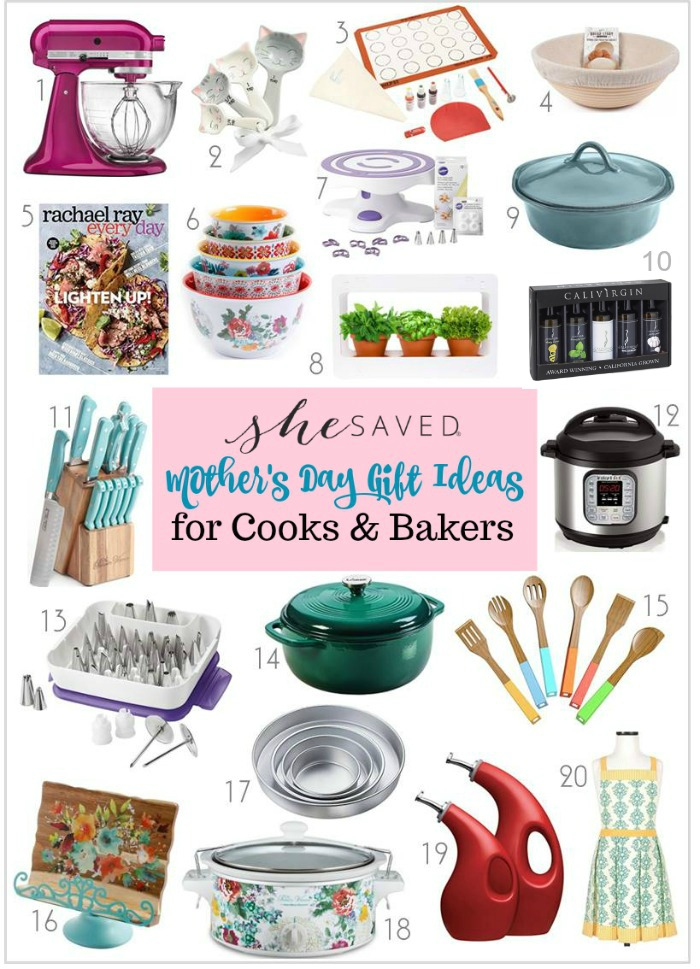 Mother 39 S Day Gift Ideas For Cooks And Bakers Shesaved