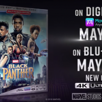 Black Panther Available on Blu-ray and DVD TODAY!