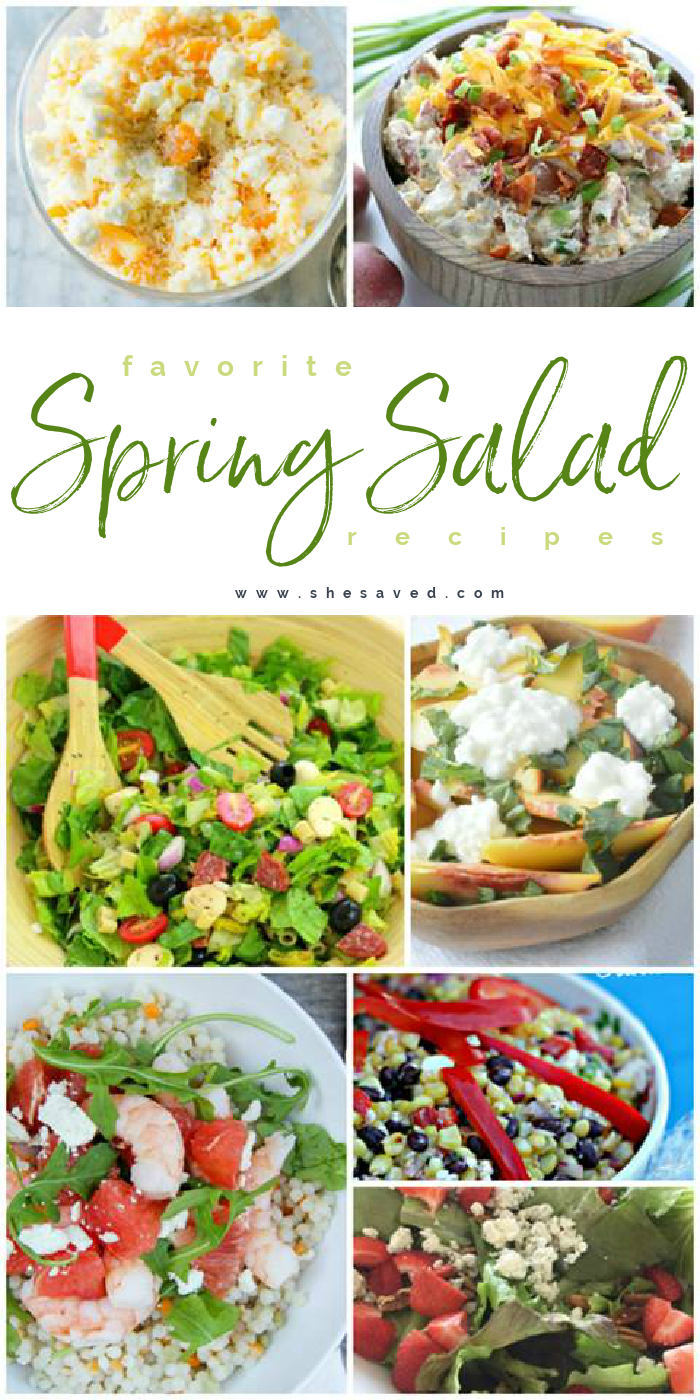 Favorite Spring Salad Recipes and Ideas