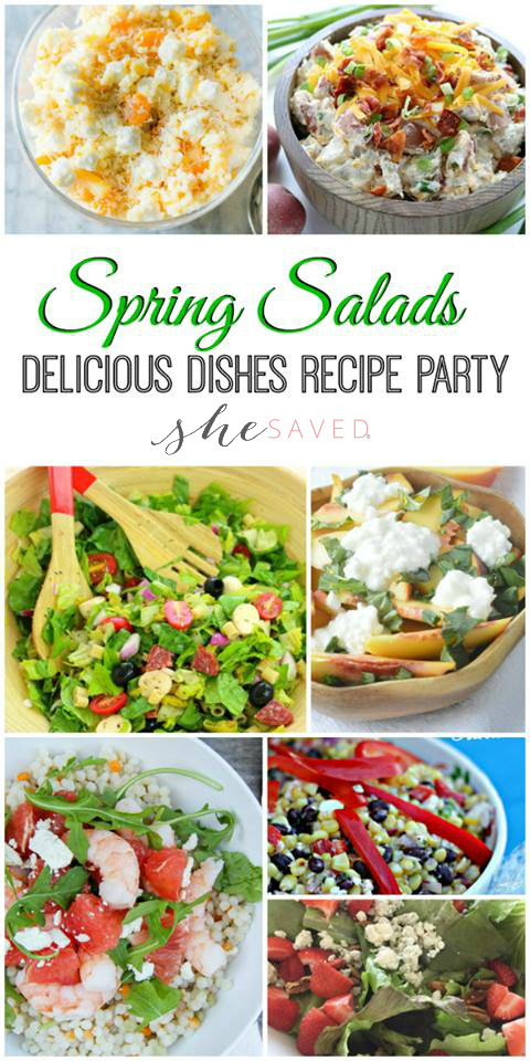 Hurry Summer! Here are the best spring salad recipes for you to get in that summer groove!