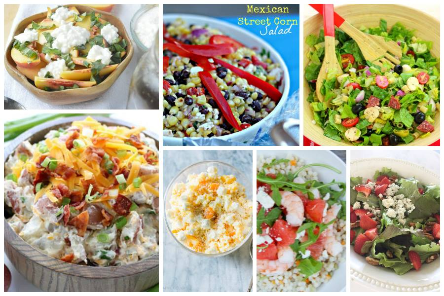 Spring Salad Recipes and Ideas