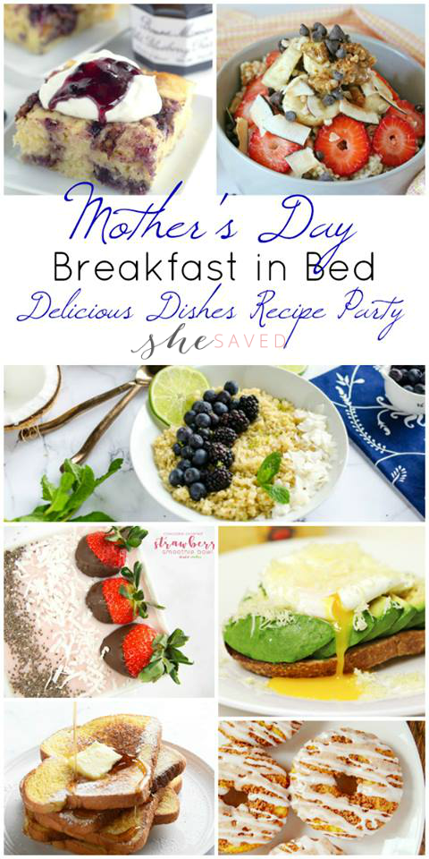 Shower Mother with these wonderful breakfast in bed recipes!