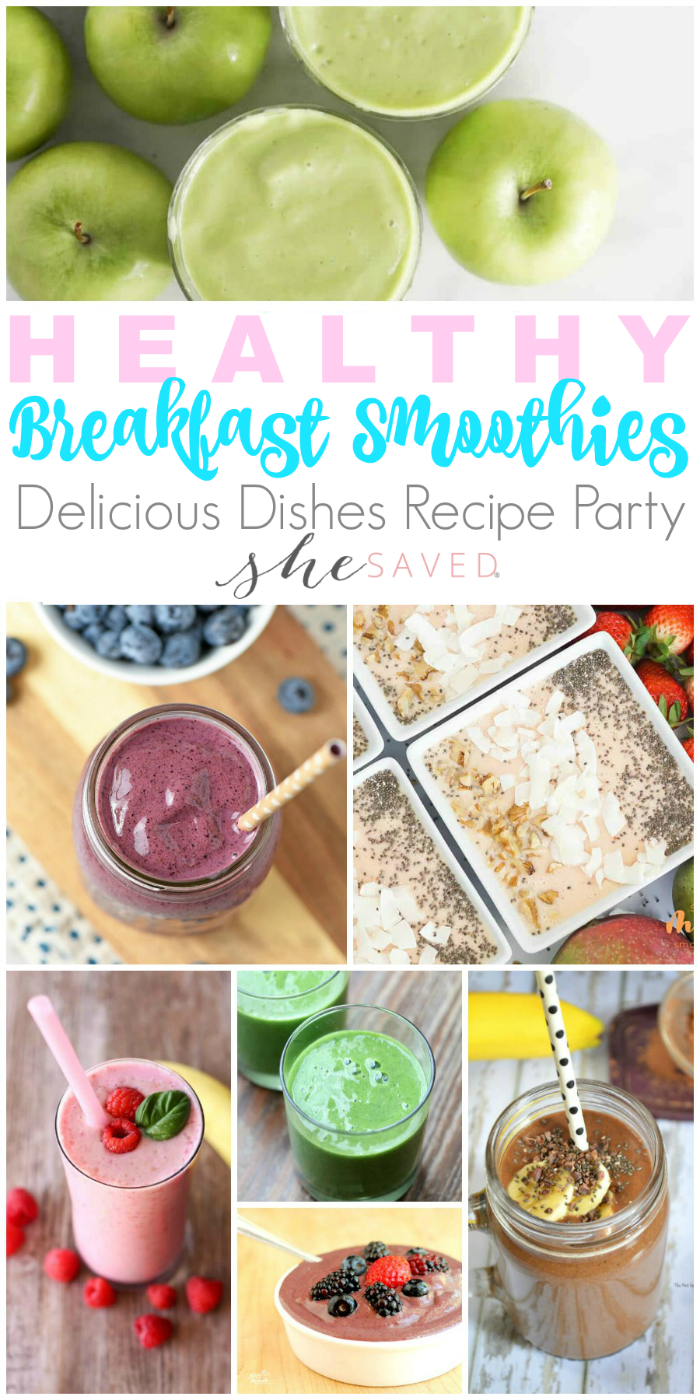 These healthy smoothie recipes make for wonderful breakfast ideas and also great afternoon pick me up snacks!