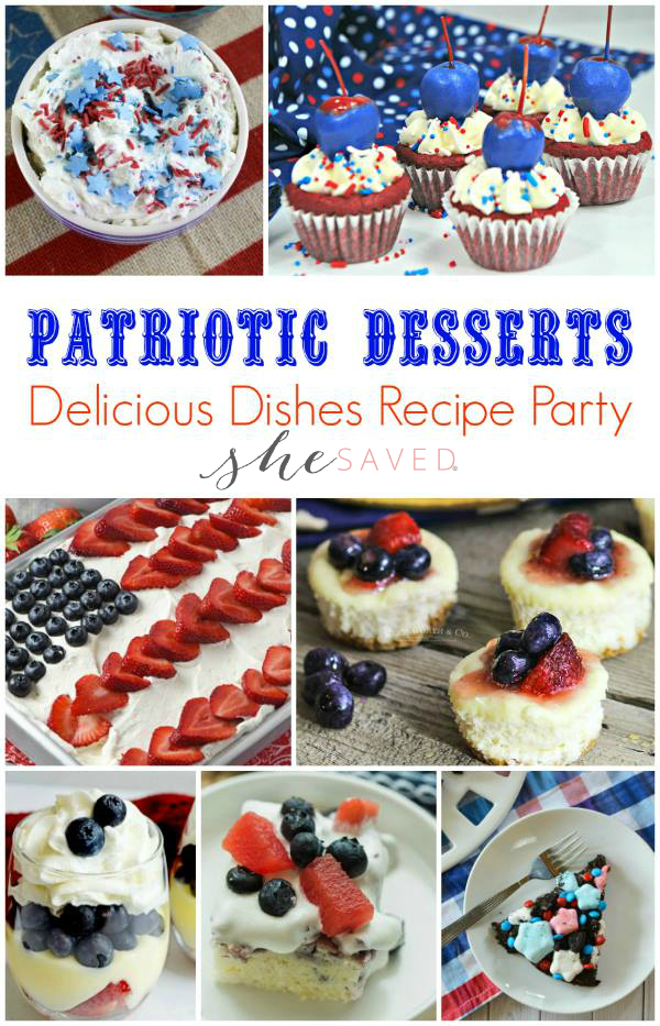 All the best patriotic desserts for your 4th of July celebration!