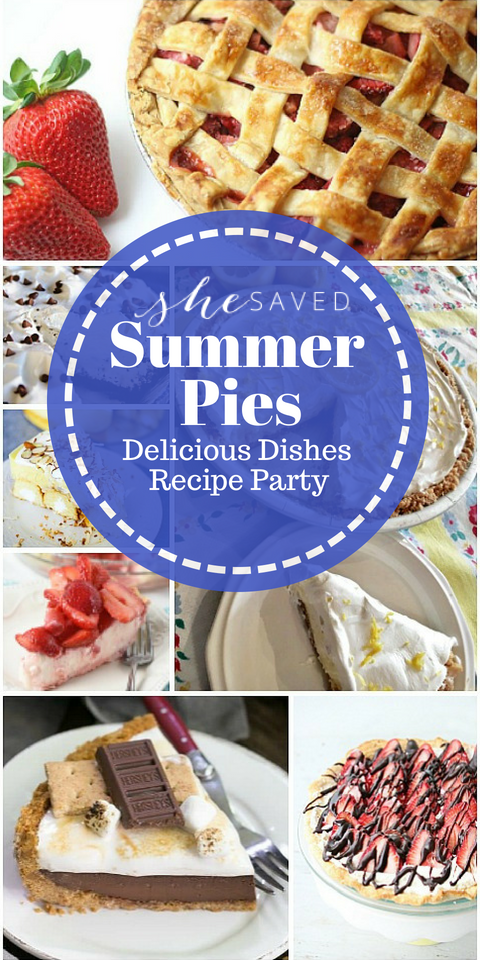 This list of favorite summer pie recipes will be a hit for desserts at your summertime gatherings and events!